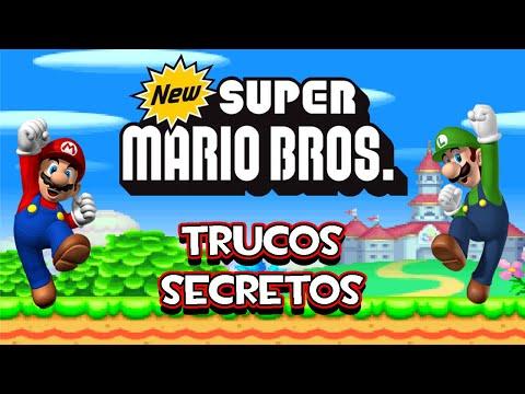 NDS New Super Mario Bros DS - Trucos Secretos