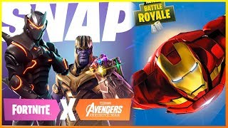 ¡CONFIRMADO! AVENGERS y FORTNITE se UNEN! (Fortnite Battle Royale) | Makina