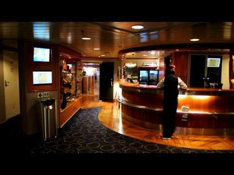 Before modernization: Onboard cruiseferry M/S Bergensfjord (Fjordline)
