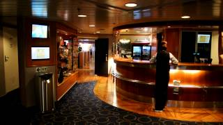 Before modernization: Onboard cruiseferry M/S Bergensfjord (Fjordline)