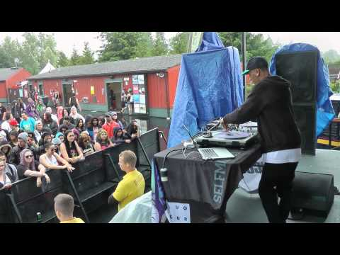 Dj Scout (Almost) Full Set, Warped Tour Seattle 2014, Part 1
