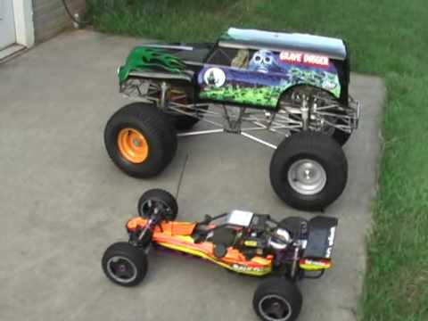 1/4 Scale Grave Digger Part 11B - What does `Scale` mean by rcWizzard