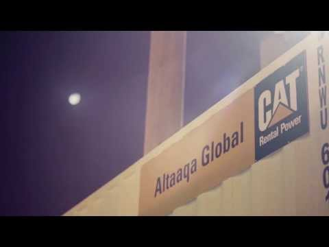 Altaaqa Global Vid4 Temporary Power Plant, Utility Rentals &