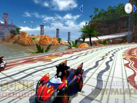 Sonic & Sega All Stars Racing PC Mod Dark Fire Pack & Super Pack Download