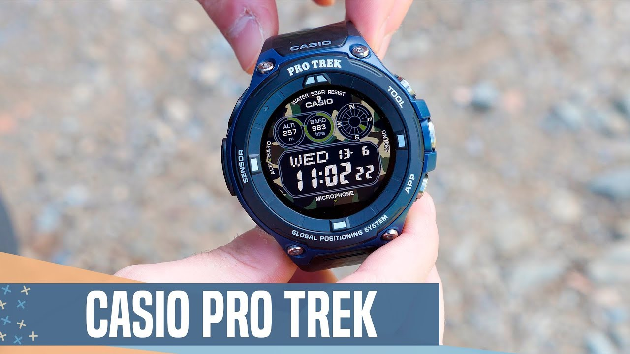 785e9b498526 El smartwatch MÁS PRO y RESISTENTE! Casio Pro Trek review - YouTube