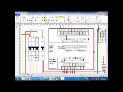 Tutorial Wiring Plc Omron Cp1e E20 Bahasa Indonesia Eps 01 Youtube