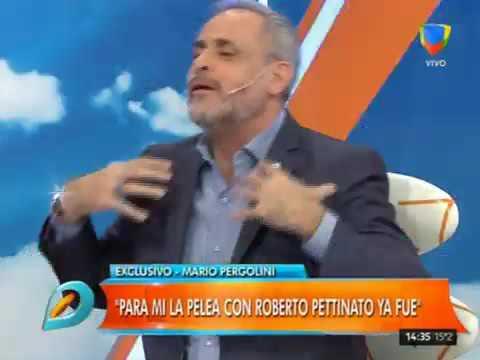 Pergolini: Me chupa un huevo lo que dijo Pettinato