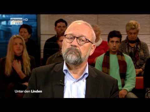 """""""Merkels neues Deutschland – Schaffen wir das?"""" - Unter den Linden am 12.10.2015"""
