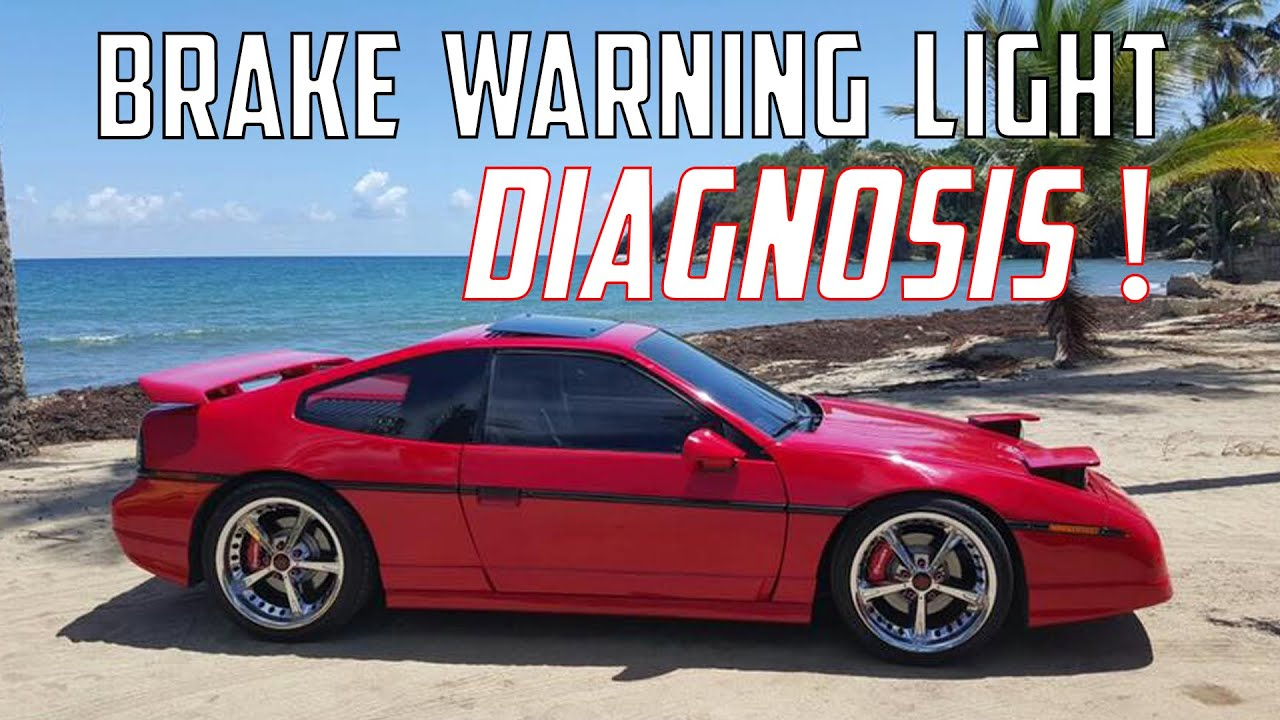 Pontiac Fiero Brake Warning Light (Diagnosis and Repair)