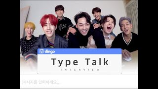 Type Talk_GOT7 Interview ENG SUB • dingo kdrama