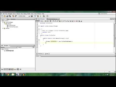 - Make a Tic-Tac-Toe Game! - [Java] Programming Tutorial (Beginner): Part 2/2