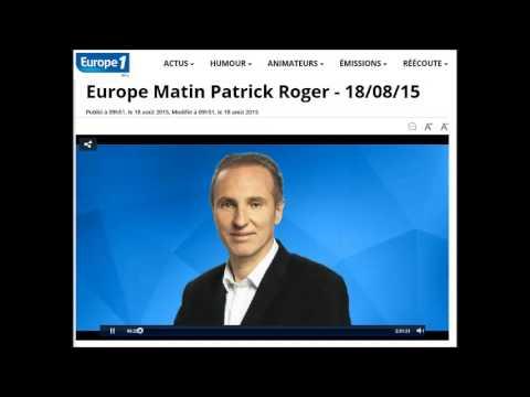 18.08.15 - Europe 1 Matin - Journal des Sports