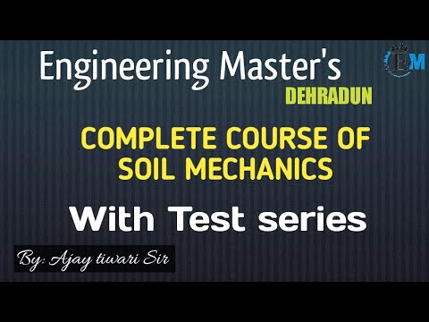 Lecture no - 63 Soil Mechanics Topic - Earth Pressure Theory ( Part - 02 ) from YouTube · Duration:  1 hour 58 minutes 18 seconds