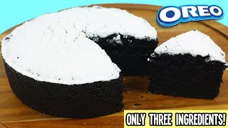 How to Make a Delicious Oreo Cake with Only 3 Ingredients  Fun &amp Easy DIY Treats to Make at Home!