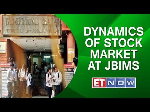 BNSN on Campus | Dynamics of Stock Market at JBIMS, Mumbai