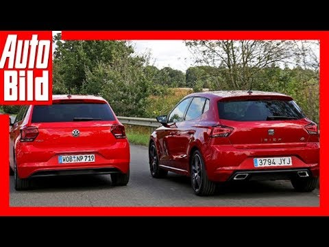 VW Polo vs. Seat Ibiza (2017) Test/Review/Details