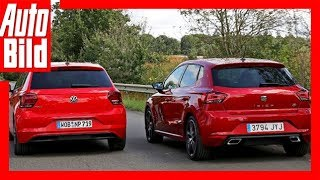 VW Polo vs. Seat Ibiza (2017) Test/Review/Details
