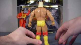 WWE/WWF MEGA-MANIACS 3-PK HULK/BRUTUS/HART REVIEW