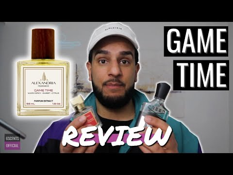 GAMETIME REVIEW | Alexandria Fragrances Cologne Review (Aventus and Baccarat Rouge 540 Hybrid!)