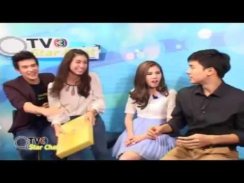 130618 ThaiTV3 - Star Chat คุณชายรณพีร์ เจมส์ มาร์-มินท์
