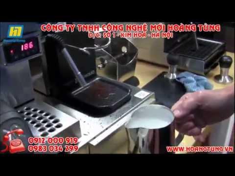 Hướng dẫn pha cafe Capuchino từ máy pha cafe hiện đại