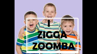 I Zigga Zumba Brain Gym Game Action Song for kids.  Music therapy and education.