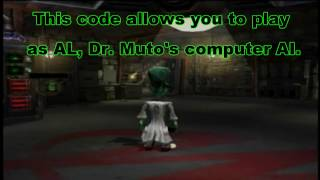 Dr. Muto - All Secret Characters/Costumes