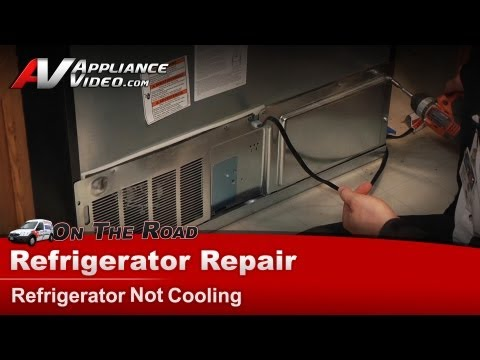 Refrigerator Repair - Not cooling Repair & Diagnostic on compressor  - Whirlpool, Maytag, Sears