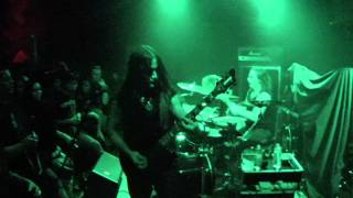 INQUISITION Infinite Interstellar Genocide live The Music Hall 10/24/2014