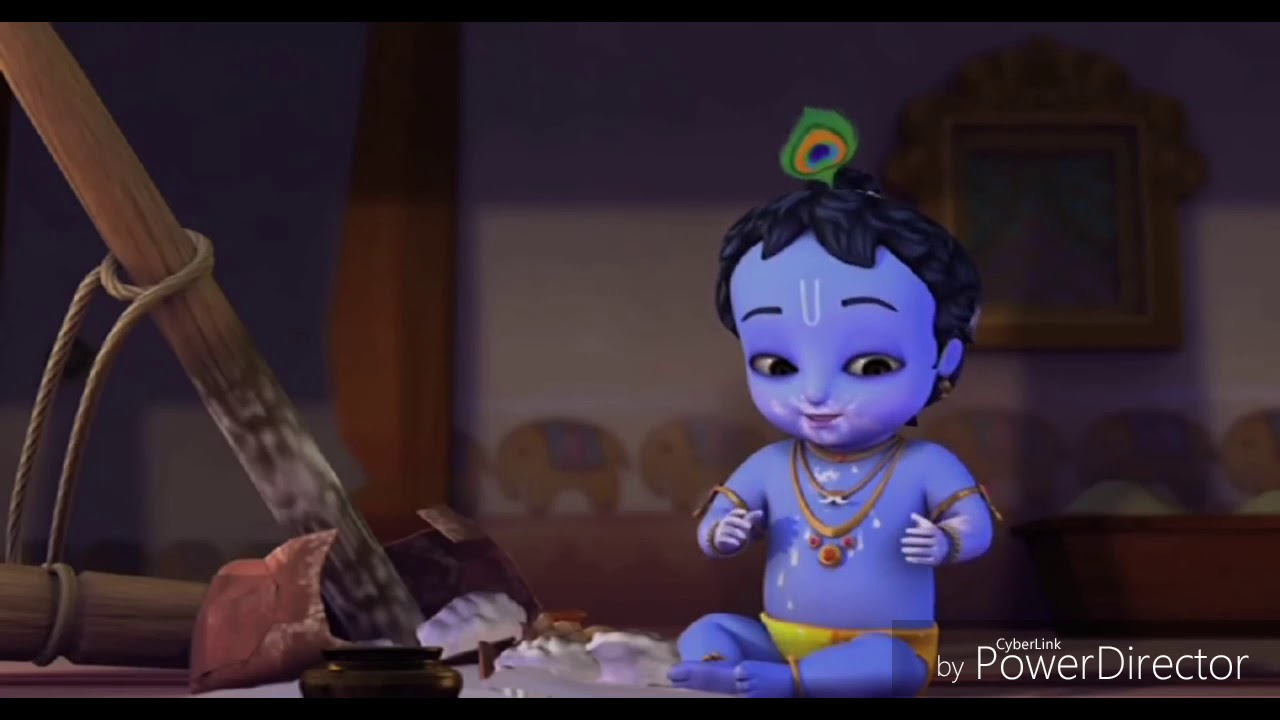 Happy Janmashtami, Cute Little Krishna