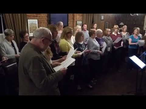 Instant Choir Beccles Sing Take Good Care Of My Baby