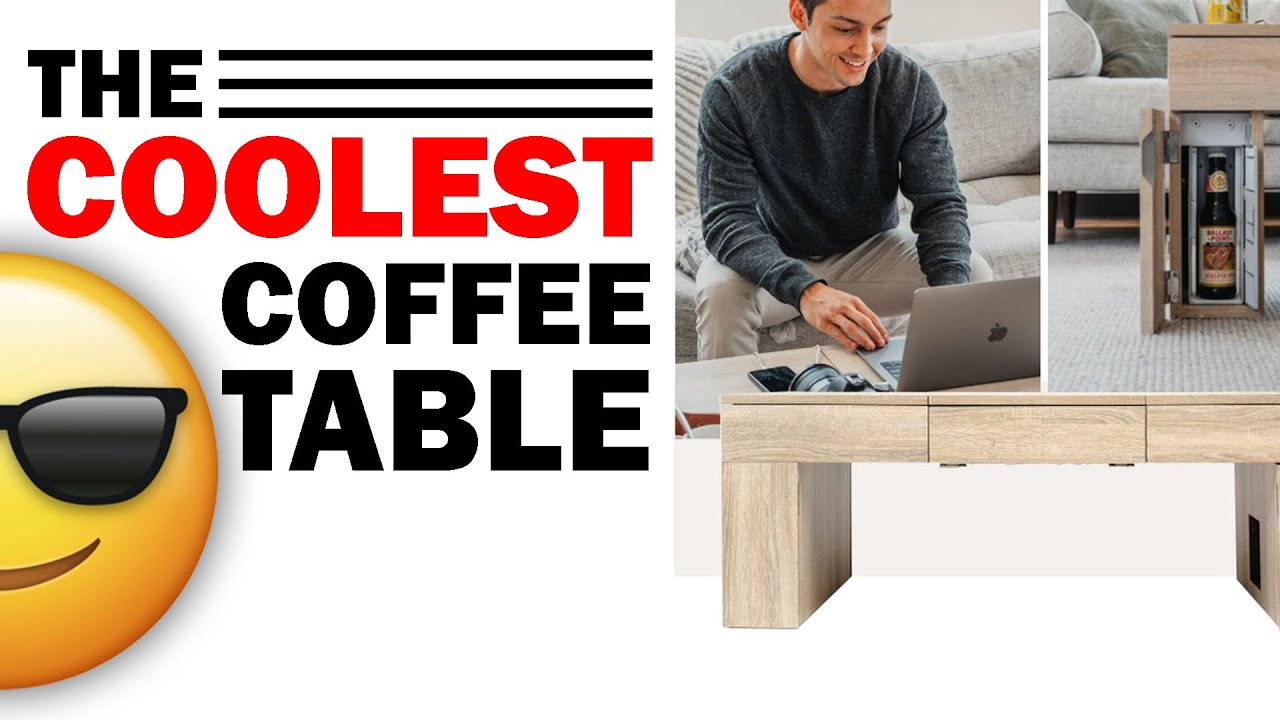 Download The Coolest Coffee Table With a Secret