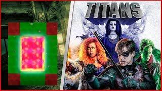 COMO FAZER UM PORTAL PARA O MUNDO DOS TITANS ( TITÃS ) - Minecraft