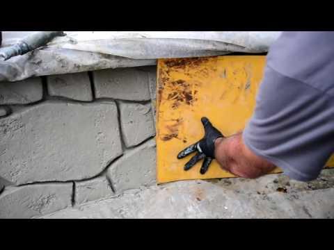 THE STONE MATRIX --- The Best Design tool for Vertical Decorative Concrete