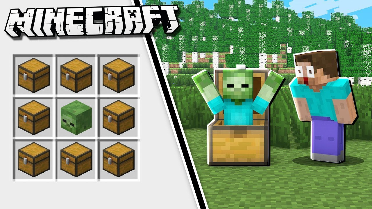 how to make trap chest minecraft