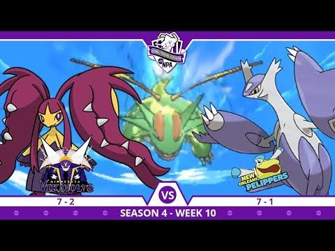 COIN FLIP! | Minnesota Vikavolts VS New Orleans Pelippers NPA S4 W10  | Pokemon Ultra S/M