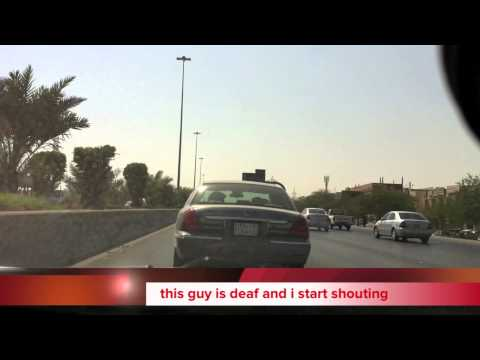 Paramedic on the way to a call in Riyadh / Saudi Arabia HD