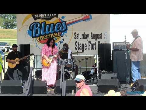 Joanna Connor Live @ The 4th Annual Gloucester Blues Festival 8/8/15