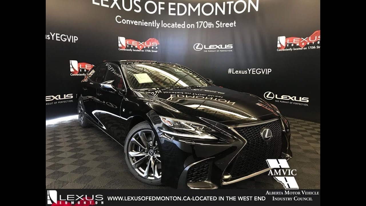 2018 Lexus Ls 500 F Sport Package Review Youtube