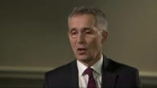 NATO head lauds US support ahead of address