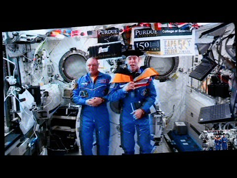 Purdue Astronaut Dr. Drew Feustel Given Honorary Degree While Aboard Space Station!