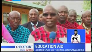 EDUCATION AID : Well wishers, NGO's help needy students
