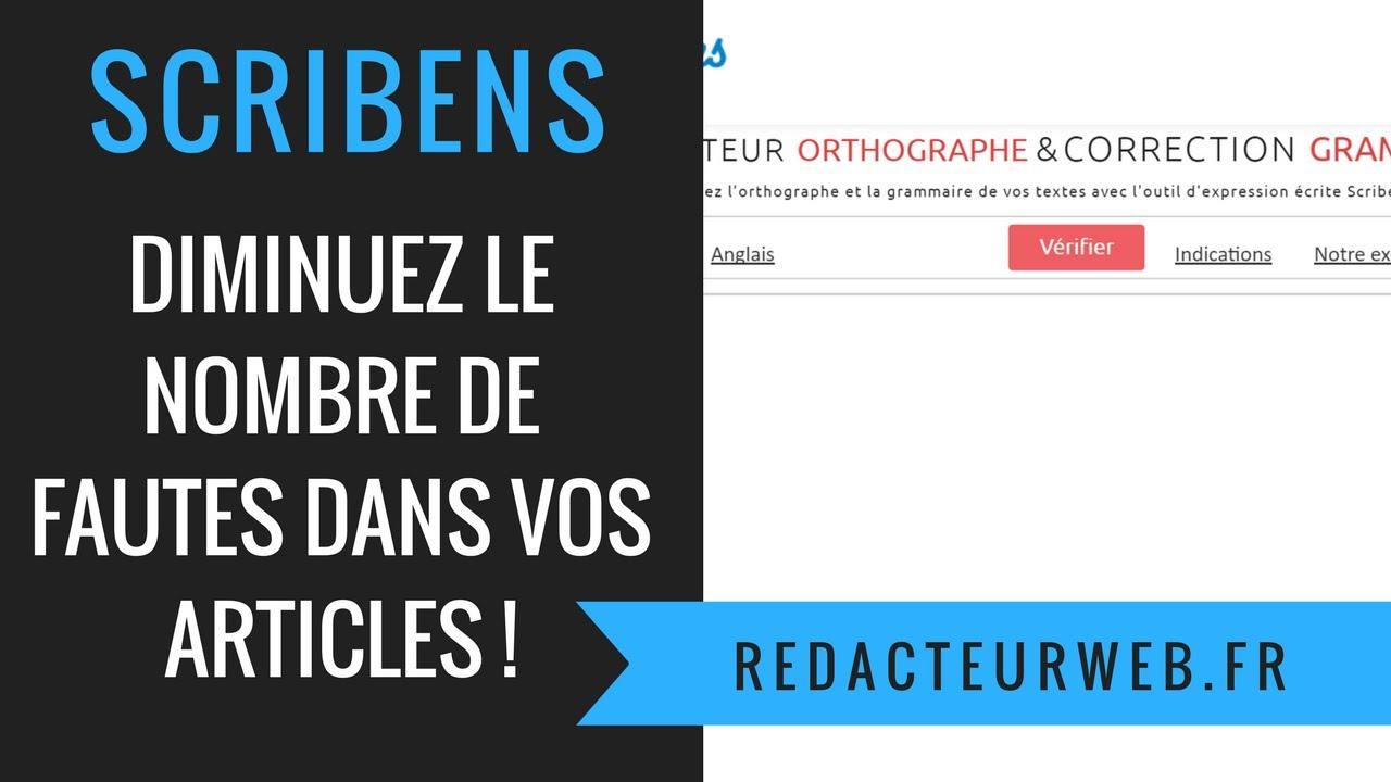 Nombre De Fautes Code : scribens diminuez le nombre de fautes dans vos articles youtube ~ Medecine-chirurgie-esthetiques.com Avis de Voitures