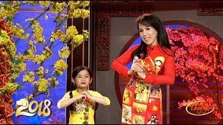 Mai Thiên Vân & Bé Trịnh Hà Kim Ngân Chúc Tết Xuân Mậu Tuất 2018