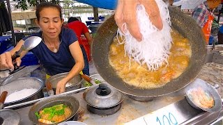Street Food Event - Casseroled Shrimp King Prawns Glass Noodle