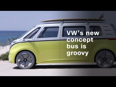 Volkswagen S Electric Concept Bus Is Far Out Man Youtube