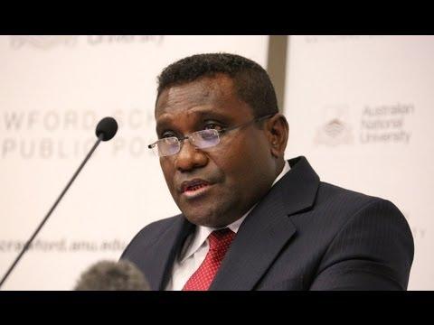 The Hon Gordon D. Lilo, Prime Minister of the Solomon Islands: The economy of the Solomon Islands