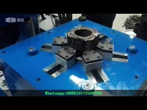 Mr t scrapping industrial used electric motor wrecker for Electric motor recycling machine