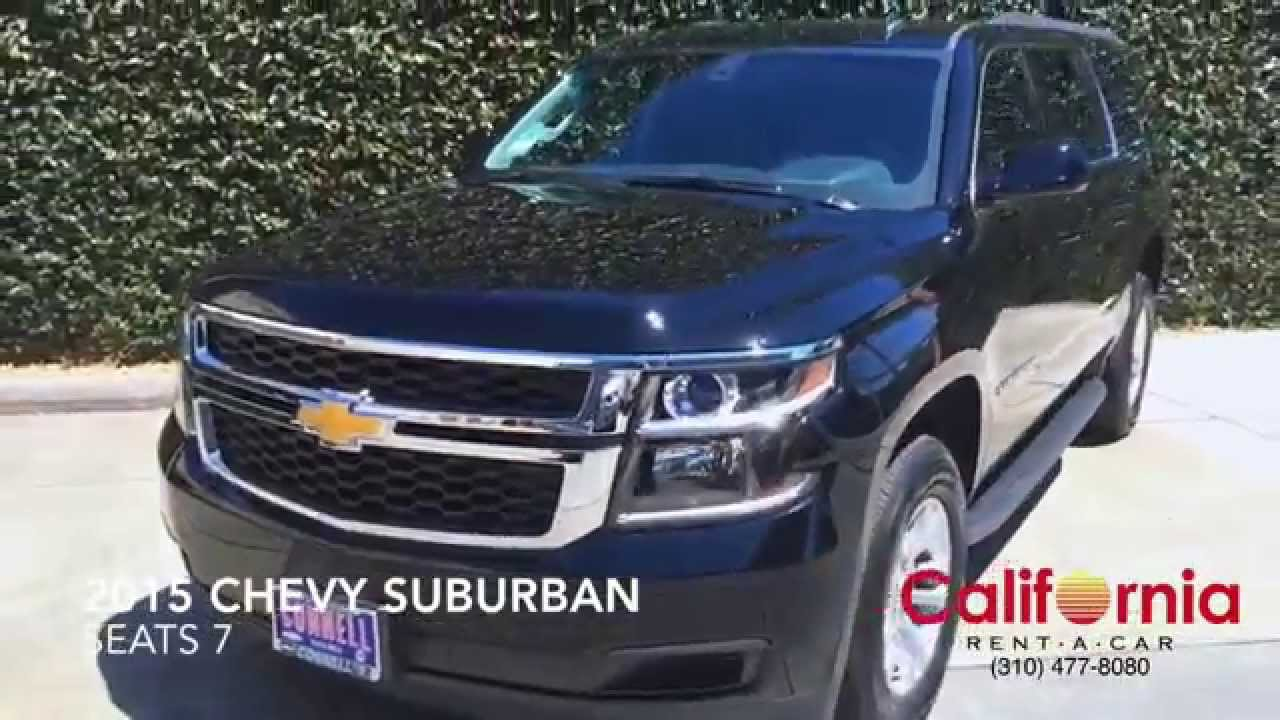 2015 Chevy Suburban Rental Los Angeles Youtube