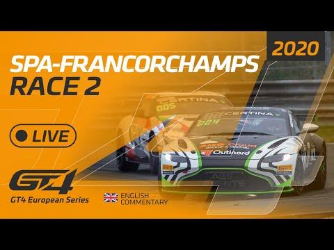 RACE 2 - GT4 EUROPEAN SERIES - SPA 2020 - ENGLISH